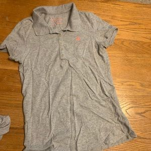 Aeropostale gray polo